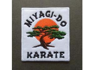 "Karate Kid Movie MIYAGI-DO KARATE Morale Iron On Patch 2 3/4"" Premier Quality"