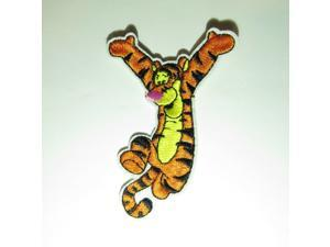 """Winnie the Poohs Tigger Jumping 3.5"""" Tall Embroidered Patch"""