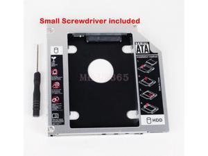 2Nd Ssd Hd Sata Enclosure Caddy For Lenovo Ideapad Y430 Y450 Y460 Y470 Y480 B460