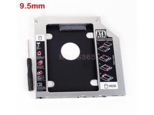 2Nd Hdd Ssd Hard Drive Caddy Adapter For Lenovo Ideapad Z500 Z500t Z510 Z510t