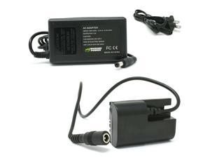 Wasabi Power AC Power Adapter Kit with DC Coupler for Canon LP-E6, ACK-E6,