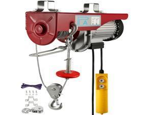 2200 LB Electric Wire Hoist Winch Hoist Crane Lift Transmission PA1000 1000 kg