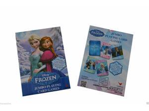 DISNEY FROZEN DISNEY JUMBO PLAYING CARDS #frozenplayingcards #disneyfrozencards