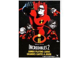 DISNEY INCREDIBLES 2 JUMBO CARDS #disneyincredibles2 #disneyplayingcards