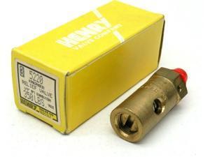 """Henry 5220 Atmospheric Pressure Relief Valve 1/8""""NPT 350lbs"""
