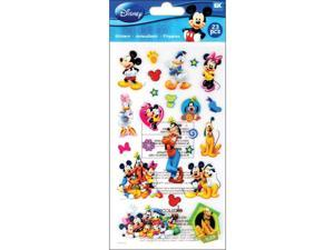 Scrapbooking Stickers Disney Mickey Mouse Friends Minnie Donald Daisy Pluto Ears