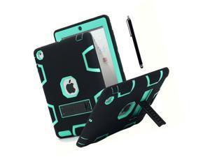 iPad 2 Case,iPad 3 Case,iPad 4 Case, AICase Kickstand Shockproof Heavy Duty R...