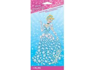 Scrapbooking Crafts Bling Sticker Disney Cinderella Gems