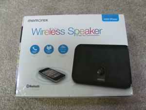 Memorex Wireless Bluetooth Portable Speaker MW550