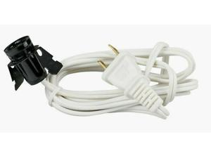 Westinghouse 6 Appliance Cord Extension 18/2 Snap-In Candelabra Socket 23311-51