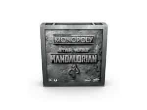 Monopoly: Star Wars The Mandalorian Edition Board Game, Protect The Child (Ba...