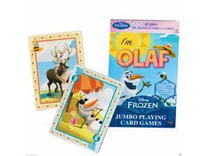 DISNEY FROZEN JUMBO CARDS GAMES IM OLAF #frozenplayingcards #disneygames