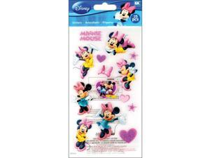 Scrapbooking Stickers Disney Minnie Mouse Pink Bows Shoes Autograph Heart Mickey