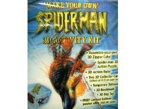 MARVEL SPIDERMAN LENTICULAR 3D ACTIVITY KIT DISNEY #spiderman #marvel #disney