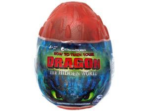 How to Train Your Dragon The Hidden World Hookfang 3-Inch Egg Plush [Orange]