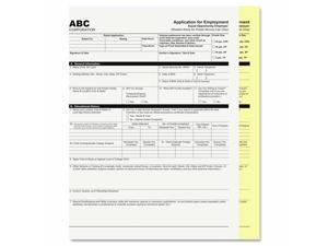 Pm Company Digital Carbonless Paper 8-1/2 x 11 Two-Part White/Canary 1250 Sets