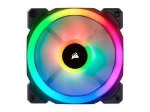 Corsair LL Series CO-9050071-WW LL120 RGB, 120mm Dual Light Loop RGB LED PWM Fan