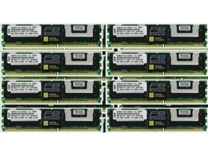 DDR2-4200 - Reg 2x4GB Modules - Workstation Memory Upgrade 8GB Kit RAM Memory for Sun Fire T2000