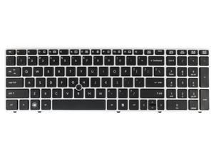 New Genuine HP EliteBook 8560p ProBook 6560b 6565b US Keyboard NSK-HX201