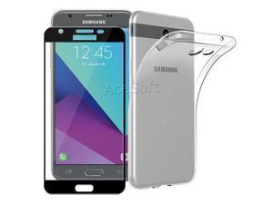 HD Tempered Glass Screen Protector TPU Case for Samsung Galaxy J3 Orbit  S367VL - Newegg com