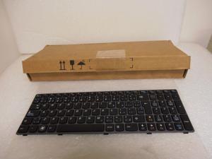 New Lenovo French English Keyboard 25012377 IdeaPad B570 B575 V570 Z570 Z575