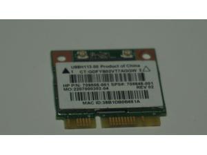 HP Realtek RTL8188EE 802.11 bgn 1x1 WiFi card  New 709848-001, 709505-001