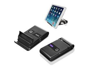 Podium Gadget Stand with Built-In 10000mAh Power Bank for Smartphones & Tablets