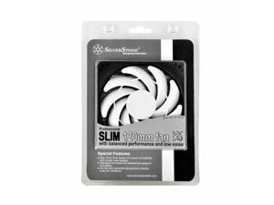 Silverstone SST-FN123 Slim 120mm x 120mm x 15mm Sleeve Bearing Case Fan, 3pin