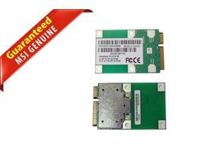 Lot of 2 MSI U100 MS-N011 802.11 b/g PCI-E Wireless Network Card RTL8187SE