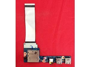 LENOVO IBM IDEAPAD S405 CARD READER AUDIO USB BOARD WITH CABLE LS8953P LS-8953P
