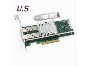 X520-DA2 Intel 82599ES 10Gb/S PCl-E Dual Port E10G42BTDA Ethernet Server Adapter