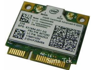 New Intel Centrino Advanced-N 6205 62205ANHMW dual band lenovo 60Y3253 20002533