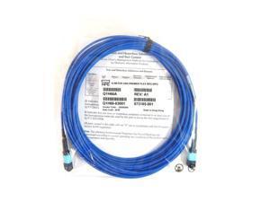 HPE Premier flex MPO/MPO OM4 12F 15M Fiber Cable Q1H66A Q1H66-63001 873185-001