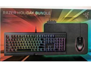 708660e1102 SEALED Razer 2018 Holiday Chroma Gaming Bundle - Cynosa Abyssus Goliathus