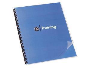 Presentation Cvr,Clr,11-1/4x8-3/4,PK100 SWINGLINE 2000036P