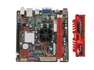 Biostar A68I-350 DELUXE Mini-ITX Motherboard with 8GB DDR3 Ram Combo