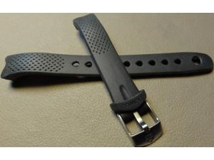 SMALL WOMENS 12mm Clear View Gray Timex T5K600 Ironman 30 Lap 100m Watch Band