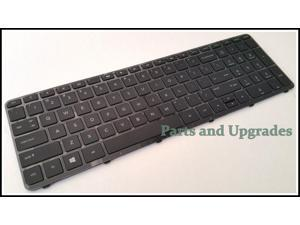 HP 15-F010wm 15-F027ca 15-F033wm 15-F039wm 15-F048ca  US Keyboard With Frame NEW