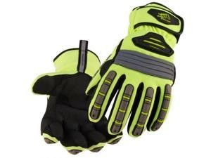 Black Stallion Hi-Vis Spandex Extreme Winter Work Gloves X-Large