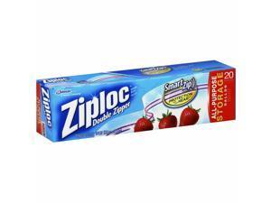 Ziploc Double Zipper Gallon Storage Bags 20 ea (Pack of 4)
