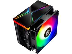 ID-COOLING SE-234-ARGB CPU Cooler AM4 CPU Cooler 5V Addressable RGB Cooler 4 Heatpipes CPU Air Cooler 120mm PWM Fan Intel/AMD