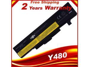 6 cells battery for lenovo IdeaPad Y480 G710 G700 Z580 G480 G585 Y480 Y485 Y580 Z380 Z580 G400 G485 G580 Y480N