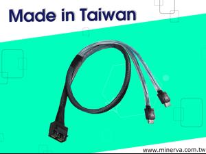 Mini SAS HD (SFF-8643) 8-Lane to OCulink (SFF-8611) 4-Lane x2 Y Cable