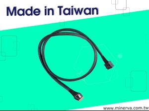 Mini SAS HD (SFF-8643) 8-Lane to Slimline SAS (SFF-8654) 8-Lane Cable for RSP3WD080E