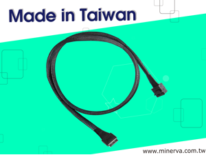 Intel TriMode RSP3MD088F for Mini SAS HD (SFF-8643) 8-Lane to OCulink (SFF-8611) 8-Lane Cable