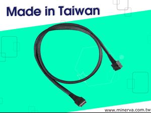 Broadcom HBA 9400-8i Tri-Mode for Mini SAS HD (SFF-8643) 8-Lane to OCulink (SFF-8611) 8-Lane Cable