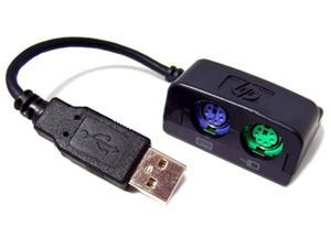 HP USB TO PS2 Keyboard and Mouse Adapter DC681B 321711-002