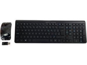 6a4fdb6bc41 HP Wireless English-French CA Keyboard Mouse 704221-DB1 ...