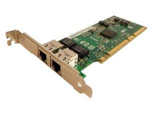 Used - Like New: Intel DUAL PORT 10/100 PCI LAN NIC Network CARD for  Untangle pfsense m0n0wall - Newegg com