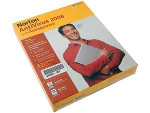 Norton AntiVirus 2008 with Antispyware Retail 12567404